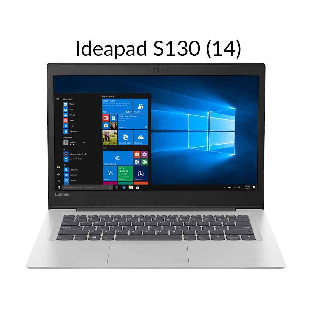 直販 ノートパソコン:Lenovo Ideapad S130 Celeron搭載(14.0型 HD/4GBメモリー/128GB SSD/Windows10/Officeなし/ミネラルグレー)【送料無料】