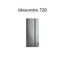 直販 デスクトップパソコン:Lenovo Ideacentre 720 AMD Ryzen 5搭載(8GBメモリ/1TB HDD/AMD Radeon RX Vega 11/モニタなし/Officeなし/Windows10)【送料無料】