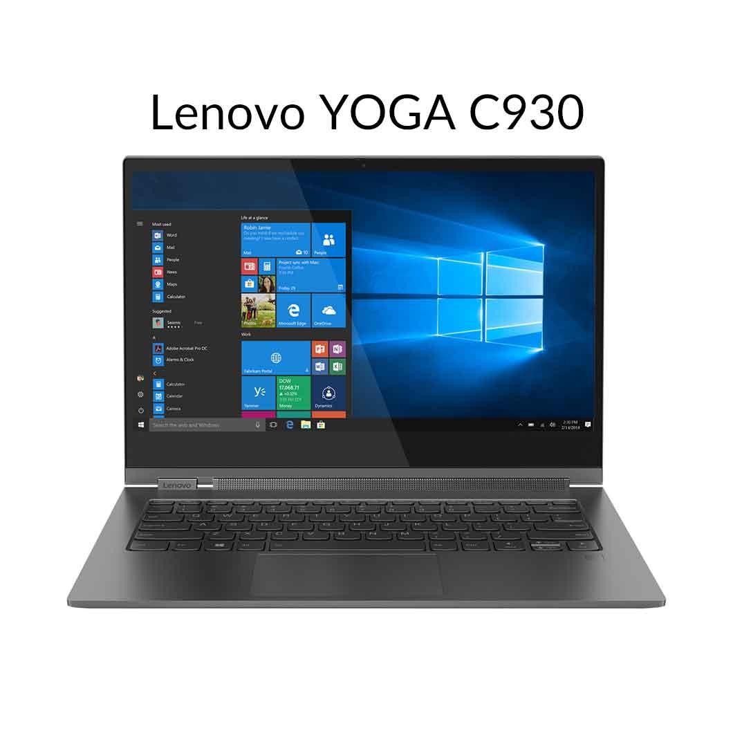 【5月30日23:59まで当店ポイント3倍!】直販 ノートパソコン:Lenovo YOGA C930 Core i7搭載(13.9型 UHD/8GBメモリー/256GB SSD/Windows10/Officeなし/アイアングレー)【送料無料】