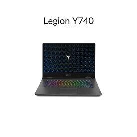 直販 ゲーミングPC:Lenovo Legion Y740 Core i7搭載(15.6型 FHD/32GBメモリー/1TB HDD/1TB SSD/NVIDIA GeForce RTX 2080/Windows10(英語版)/Officeなし/ブラック)【送料無料】