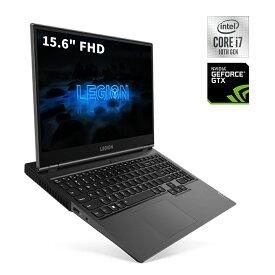 【10/30 最大3000円オフクーポン&全品P9-17倍】直販 ゲーミングPC:Lenovo Legion 550Pi Core i7搭載(15.6型 FHD/16GBメモリー/512GB SSD/NVIDIA GeForce GTX 1660 Ti/Windows10/Officeなし/アイアングレー)【送料無料】wx