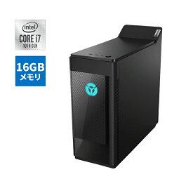 【今なら5,500円OFFクーポン】直販 ゲーミングPC:Lenovo Legion T550i Core i7搭載(16GBメモリ/2TB HDD/256GB SSD/NVIDIA GeForce RTX 2060/モニタなし/Officeなし/Windows10/ブラック)【送料無料】