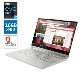【9/18は市場の日! 最大P8倍!】直販 ノートパソコン Officeあり:Lenovo Yoga 950i Core i7搭載(14.0型 UHD マルチタッチ対応/16GBメモリー/1TB SSD/Windows10/Microsoft Office Home & Business 2019/マイカ)【送料無料】