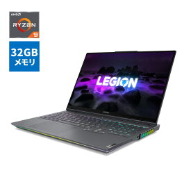 【10/30 最大3000円オフクーポン&全品P9-17倍】直販 ゲーミングPC:Lenovo Legion 760 AMD Ryzen 9搭載(16.0型 WQXGA/32GBメモリー/1TB SSD/NVIDIA GeForce RTX 3080/Windows10/Officeなし/ストームグレー)【送料無料】wx