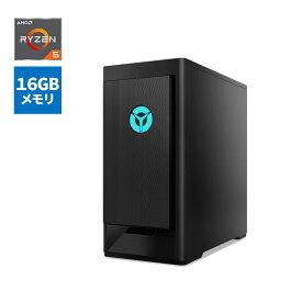 【9/18は市場の日! 最大P8倍!】直販 ゲーミングPC:Legion T550 AMD Ryzen5搭載(16GBメモリー/1TB HDD/256GB SSD/GeForce GTX 1650 SUPER/Officeなし/Windows10/モニターなし/ブラック)【送料無料】