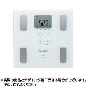 オムロン 体重体組成計カラダスキャン HBF-214-W ホワイト