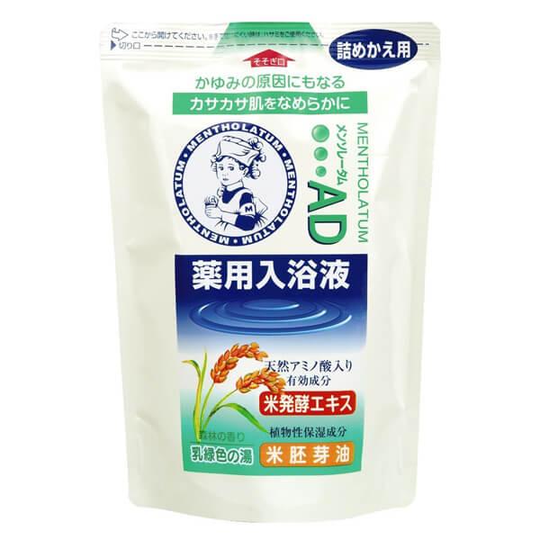 メンソレータムAD薬用入浴液(森林の香り)(つめかえ用) 600ML ロート製薬 ヘルスケア