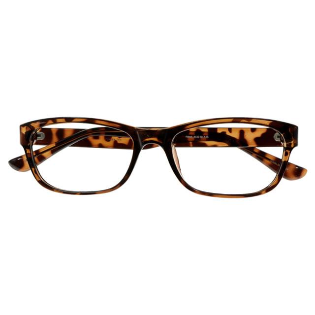 【2700円の眼鏡セット 軽量 度付きメガネ】YUNIBA-TR4 DMBR