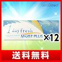 ワンデーフレッシュ モイストプラス 12箱セット 【送料無料】 / 1日使い捨て コンタクトレンズ 1day