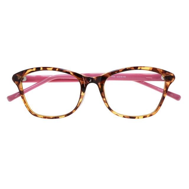 【2700円の眼鏡セット 軽量 度付きメガネ】KAZARU-002 DMPK