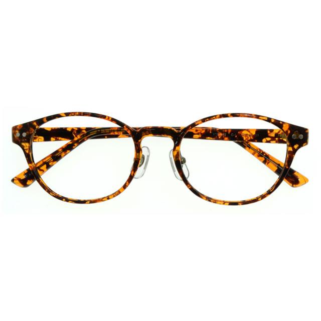 【2970円の眼鏡セット 軽量 度付きメガネ】YTR-052-1 DMBR