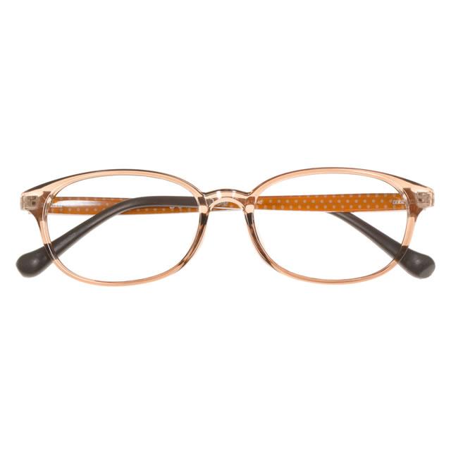 【2700円の眼鏡セット 軽量 度付きメガネ】BS-102-1 BE