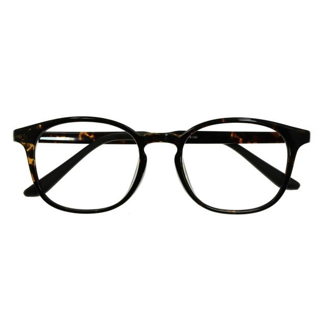 【2700円の眼鏡セット 軽量 度付きメガネ】BS-103-3 DMBR