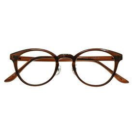 【7/25(木)★24時間限定★全品ポイント5倍!】【国内加工の眼鏡セット 軽量 度付きメガネ】LDA-001BR