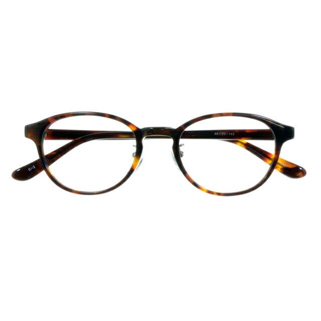 【2970円の眼鏡セット CLASSIC 度付きメガネ】AL327-2 DMBR