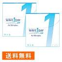 WAVEワンデー UV エアスリム plus ×2箱セット WAVE コンタクト コンタクトレンズ クリア 1day ワンデー 1日使い捨て …