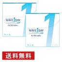 15日限定 500円クーポン配布中 WAVEワンデー UV エアスリム plus ×2箱セット WAVE コンタクト コンタクトレンズ クリ…