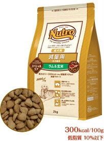 ニュートロ ナチュラルチョイス 減量用 ラム&玄米 成犬用 全犬種用 4kg【正規品】