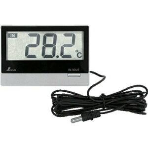 シンワ測定 デジタル温度計 Smart B 室内・室外 防水外部センサー 73117