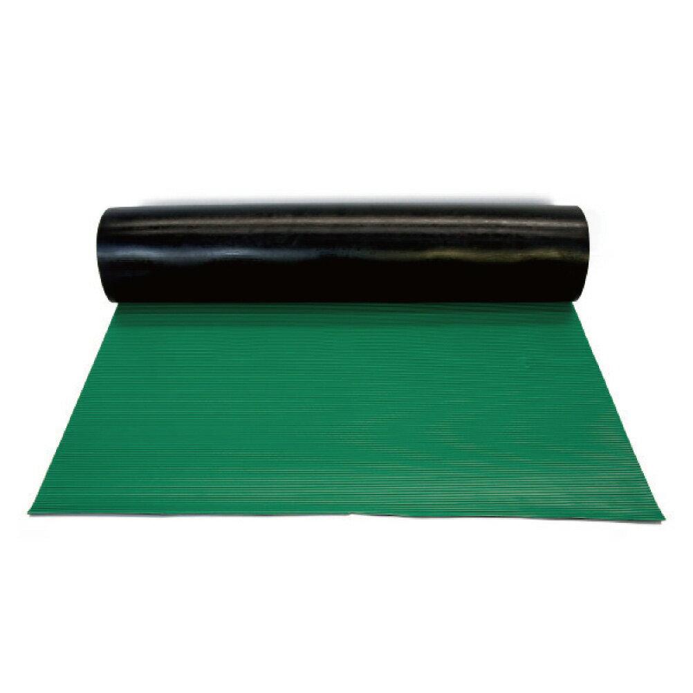 横シマ B山ゴムマット 1m x 10m(筋入りゴムマット)