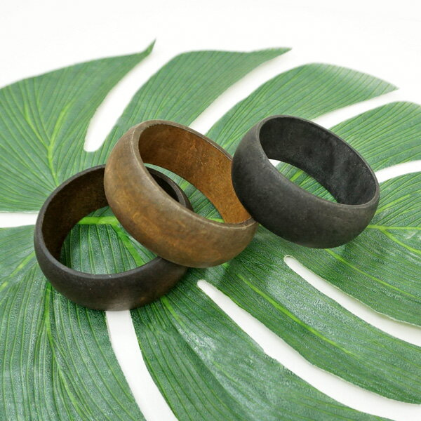 ハワイアン ハワイ 雑貨 ハワイアン雑貨 バングル ハワイアンジュエリー 木製