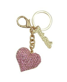 【Jessie Steele】ジェシースティール チャーム ハート(ピンク) Pink Heart ラインストーン・Jessie Steeleロゴ付き【対応】【HLS_DU】【RCP】