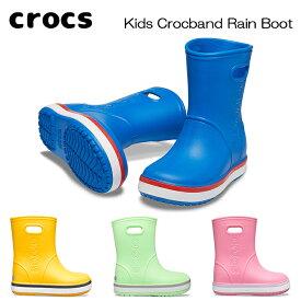 CROCS クロックス レインシューズ 205827 クロックバンド レインブーツ CROCBAND RAIN BOOT あす楽 対応