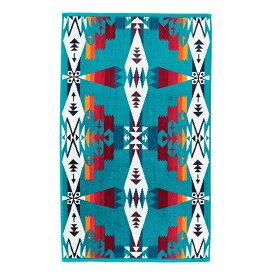 ペンドルトン XB219 アイコニック ジャガード ハンドタオル【トゥーソンターコイズXB219-53508】46cm×76cm