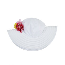 【メール便】ラッフルバッツ 帽子 ホワイト サミー サンハット UVカット 紫外線防止 UPF50+
