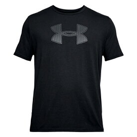 メール便送料無料 アンダーアーマー 【4】1314004-001 Tシャツ 半袖 ビッグロゴ ブラック ヒートギア