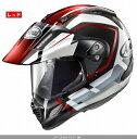 (ヘルメット バイク) ARAI (アライ) TOUR CROSS 3 DETOUR (ツアークロス3デツアー) へルメット 赤/L(59-60)サイズ