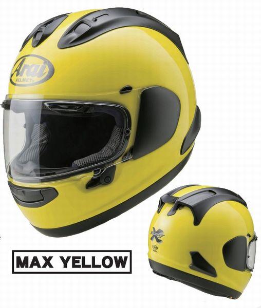 ARAI (アライ) RX-7X Max Yellow (マックスイエロー) 山城オリジナル ヘルメット