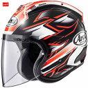 (ヘルメット バイク) ARAI (アライ) VZ-RAM GHOST (ゴースト) へルメット 赤/L(59-60)サイズ