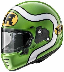 (ヘルメット バイク) ARAI (アライ) RAPIDE NEO HA (ラパイドネオHA) へルメット 緑/M(57-58)サイズ