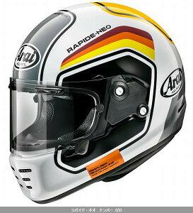 (ヘルメット バイク) ARAI (アライ) RAPIDE NEO NUMBER (ラパイドネオ ナンバー) へルメット 青/L(59-60)サイズ