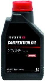 Motul (モチュール) NISMO (ニスモ) コンペティション オイル タイプ2108E 0W-30 1リッター (4輪用) (日本正規品)