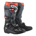 2020 Alpinestars (アルパインスターズ) (オフロード) Tech7ED ブーツ (Enduro エンデューロ AT ブロックソール) ブラック/グレ…