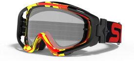 2020 SWANS (スワンズ) MX-Talon-M (タロンM) ミラーレンズ MXゴーグル (モトクロスゴーグル) レッド/イエロー/シルバーミラースモーク