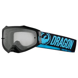 2018 Dragon (ドラゴン) MXV PLUS ゴーグル ブルー クリアレンズ 358766024602