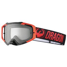 2018 Dragon (ドラゴン) MXV MAX ゴーグル レッド クリアレンズ 358736024402
