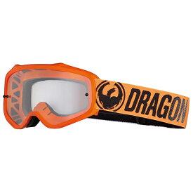 2018 Dragon (ドラゴン) MXV ゴーグル Break Orange (ブレイクオレンジ ブレークオレンジ) クリアレンズ 358796024701