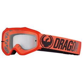 2018 Dragon (ドラゴン) MXV ゴーグル Break Red (ブレイクレッド ブレークレッド) クリアレンズ 358796024405