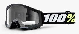 100% (100パーセント) STRATA Mini (ストレータミニ) ゴーグル ブラック (子供用)