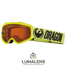2018 Dragon (ドラゴン) MXV ゴーグル ハイビス LUMAレンズ (ルーマレンズ ルマレンズ) アンバーレンズ MX-18010