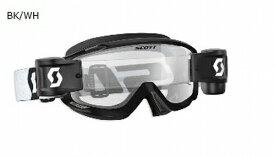 2019 Scott (スコット) SPLIT OTG WFS (スプリット 眼鏡用 ロールオフ) MXゴーグル ブラック/ホワイト