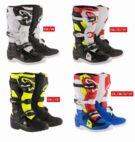 2018 Alpinestars (アルパインスターズ) (オフロード) Tech7s JR (ユース キッズ 子供用) ブーツ