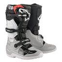 2020 Alpinestars (アルパインスターズ) (オフロード) Tech7s JR (ユース キッズ 子供用) ブーツ ブラック/シル…