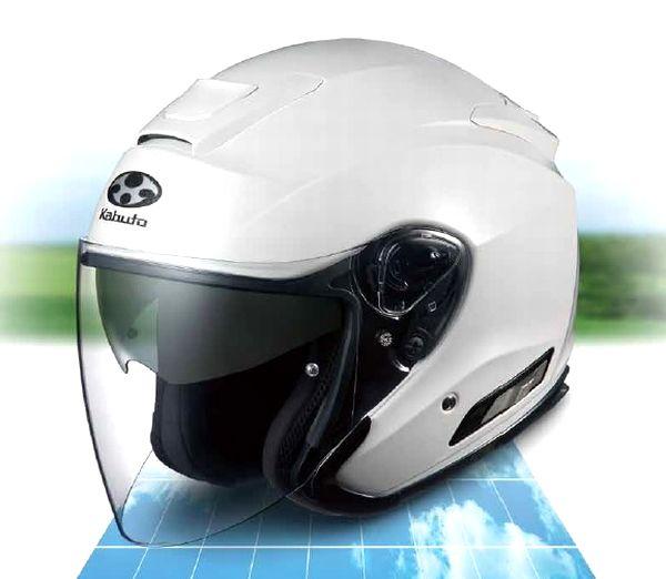 OGK KABUTO (オージーケーカブト) Asagi (アサギ) ヘルメット (インナーサンシェード装備)