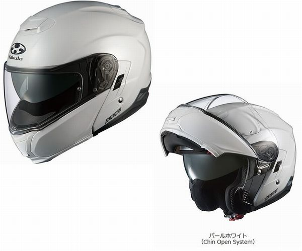 (ヘルメット バイク) OGK KABUTO (オージーケーカブト) IBUKI (イブキ) システムヘルメット (ピンロックシートワイドタイプ付属) (インナーサンシェード付属)