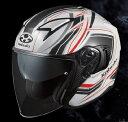 (ヘルメット バイク) OGK KABUTO (オージーケーカブト) EXCEED CLAW (エクシードクロー) ヘルメット パールホワイト フラットブ…